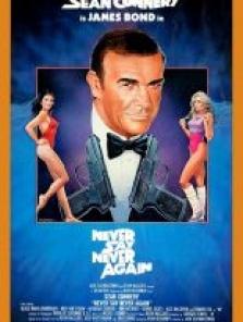 James Bond 1983 Asla Asla Deme sansürsüz full hd izle