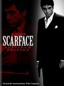 Yaralı Yüz – Scarface full hd film izle